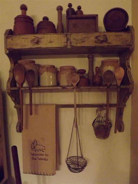 primitive shelves  wall cabinets images  pinterest