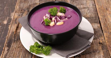 recette soupe au chou rouge