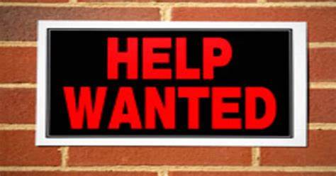 Help-Wanted Sign Comes With Frustrating Asterisk