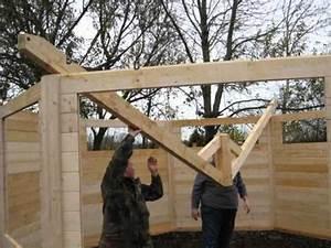 Holzpavillon Selber Bauen : blockhaus aufbau eines vollisolierten premium pavillons youtube ~ Orissabook.com Haus und Dekorationen