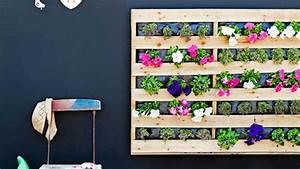 Palette Bepflanzen Anleitung : wandbegr nung aus paletten coole diy projekte f r ihr zuhause ~ Whattoseeinmadrid.com Haus und Dekorationen