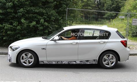 2012 Bmw 1series Hatchback M Sport Package Spy Shots