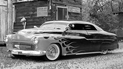 Cars Wallpapers Classic Muscle Rod Rods Flames