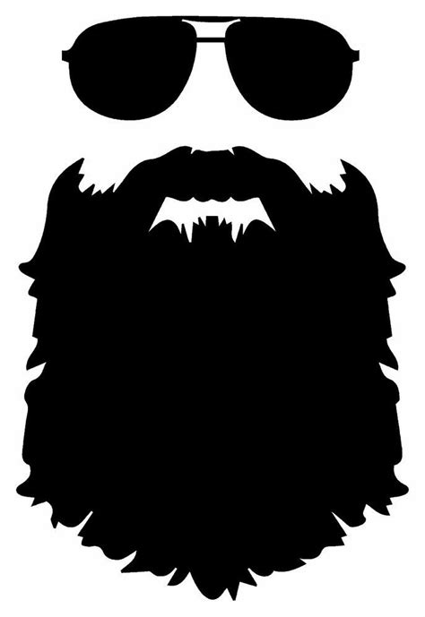 beard jdm funny vinyl decal car sticker truck bumper laptop tablet boat   siluetas
