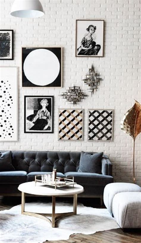 black  white gallery wall ideas homemydesign