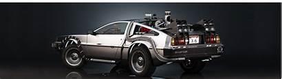 Delorean Future Dual Dmc Monitors Cars Monitor