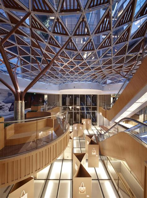 archshowcase  art mall  shanghai china  kokaistudios