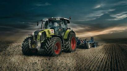 Claas Tractor 4k Hintergrundbilder Arion Desktop Sfondi
