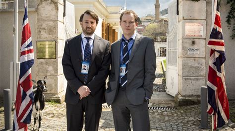 Mitchell And Webb Are The Ambassadors  Showbusiness News