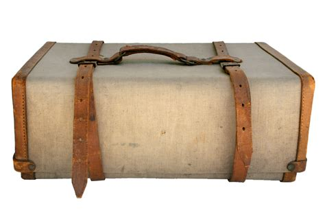 leather  canvas ditty bag omero home