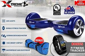 White Light Up Hoverboard Self Balancing Electric Scooter Blue Xtreme Hoverboard