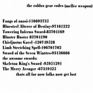 Roblox gear codes Finding Roblox clothes code hair - satukis