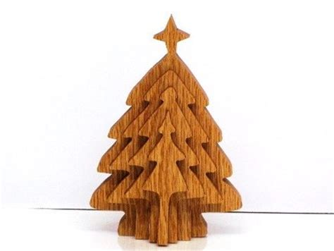 wood wooden christmas tree ornament patterns  plans