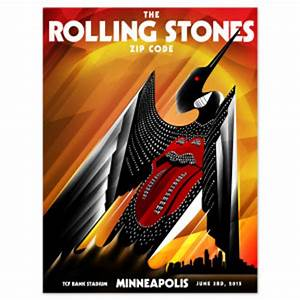 Minneapolis MN USA Rolling Stones 2015 show and travel info