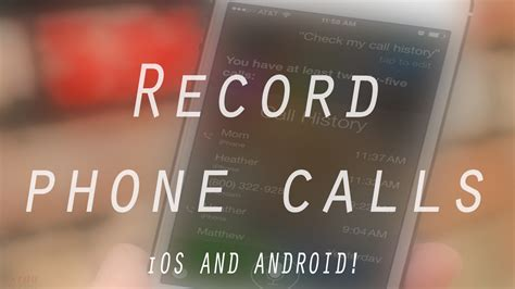 is there a way to record phone calls on iphone free way to record phone calls on iphone android