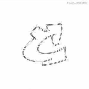 common worksheets printable letter c preschool and With graffiti letter stencils