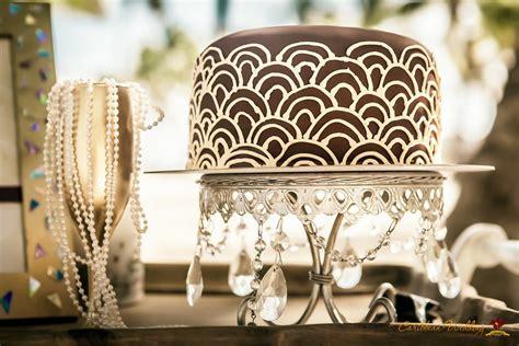 Art Deco Gatsby Wedding Inspiration From Caribbean Wedding