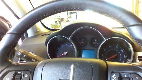 Chevrolet Cruze Remote Start Installation Part