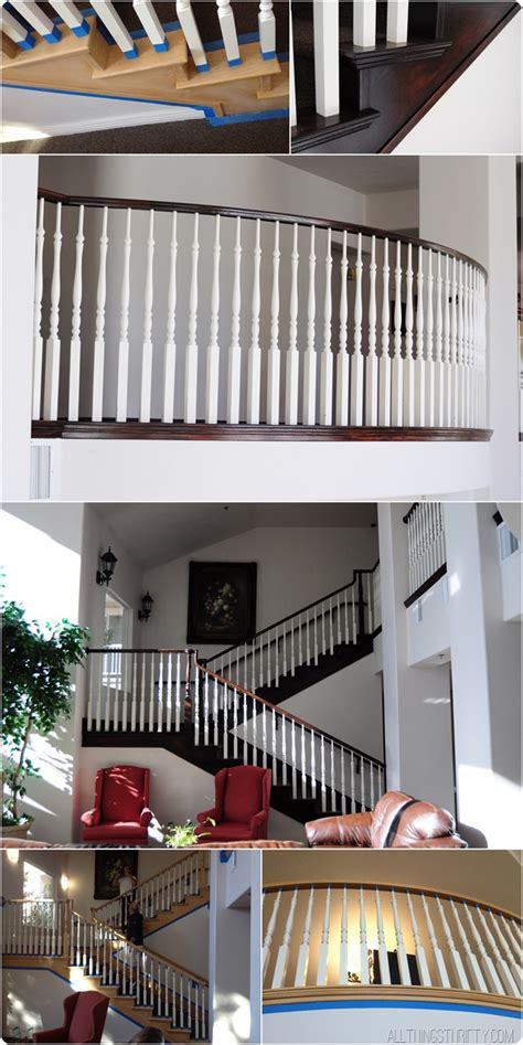 oak banisters how to stain an oak banister