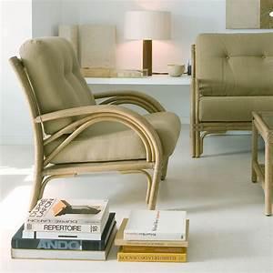 Salon En Rotin Pour Veranda : fauteuil en rotin confort brin d 39 ouest ~ Melissatoandfro.com Idées de Décoration