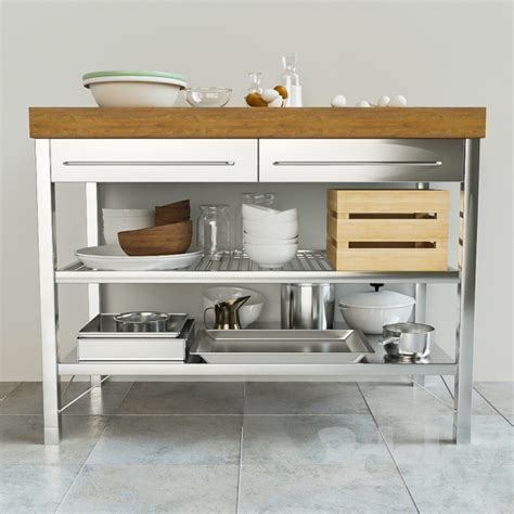 buy kitchen island 3d models kitchen rimforsa worktable ikea