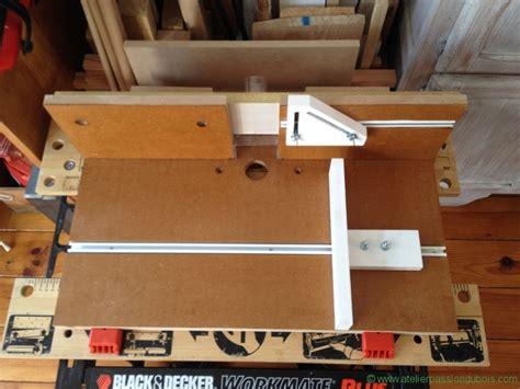 defonceuse sous table atelier du bois
