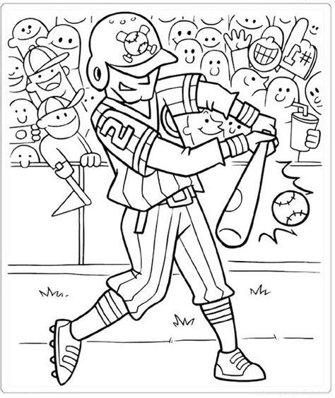 baseball cartoon coloring  drawing picture