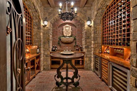 absolutely glorious mediterranean wine cellar designs