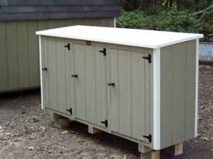 lifetime 60088 outdoor garbage horizontal storage shed bin