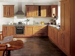 Modern Solid Wood Kitchen Cabiets Designs Photos