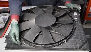 Early W220 Engine Fan Motor Replacement Instructions