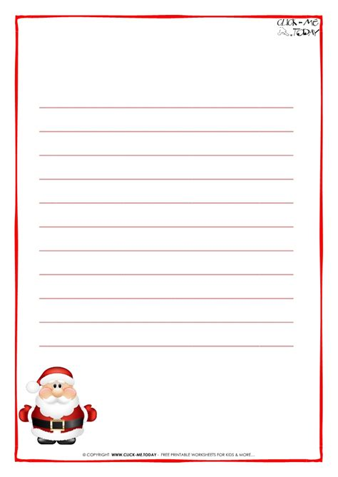 Santa Letter Writing Paper Islamic Banking Essay Santa Claus Letter