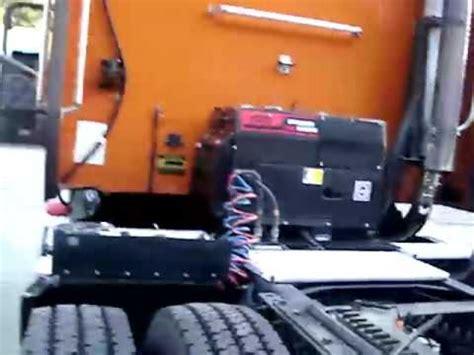 silent truck diesel generator demo  youtube