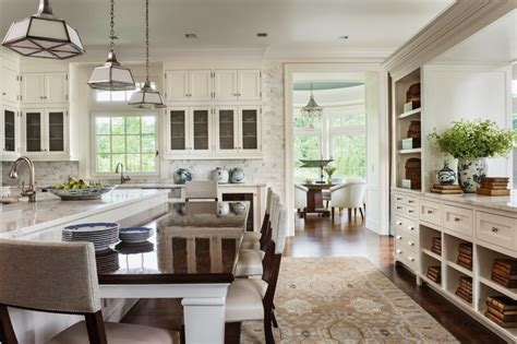 Light Filled Contemporary Classic Kitchen   Interiors By Color