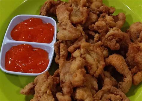 Resep ayam geprek crispy ini sebenarnya cukup sederhana, anda bisa membuat adonan tepungnya sendiri, atau bisa juga menggunakan tepung bumbu yang sudah jadi. Resep Kulit ayam crispy oleh Farida Dharmawan - Cookpad