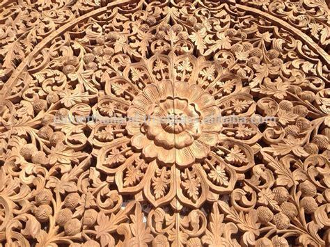 Buy Thai Wood Carving Wall Art Panel Asian Home Decor Online: Buy Wood Carving,Teak Wood Carving