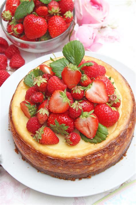beeriger  york cheesecake wunderbar cremig