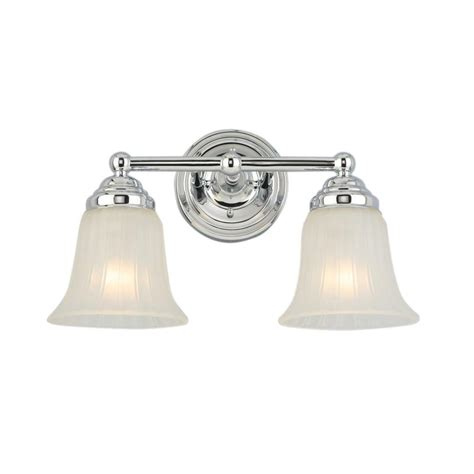 hton bay 2 light chrome vanity light isr1392a 2 the