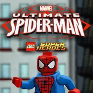 lego ultimate spider man game funnygamesin