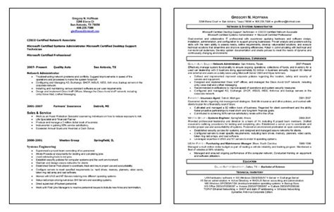 network administrator resume lifiermountain org