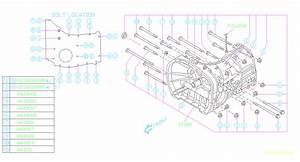 Subaru Forester Case Manual Transmission  R
