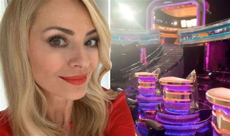 Tess Daly gives sneak peek at new look Strictly studio ...