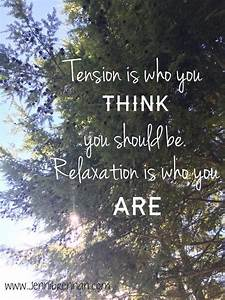 Tension, And, Relaxation