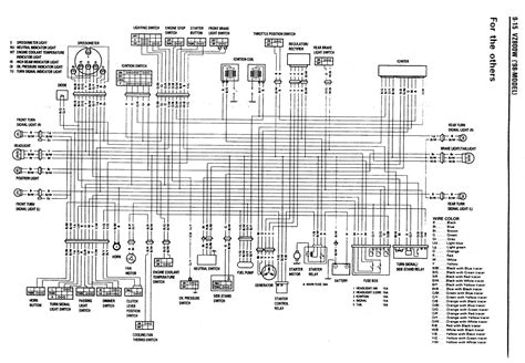 Wiring Schematic For Suzuki Intruder by Wiring Diagram Harley Davidson Vl Wiring Diagram