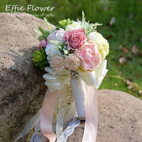jual everlove bouquet buket bunga wedding artificial