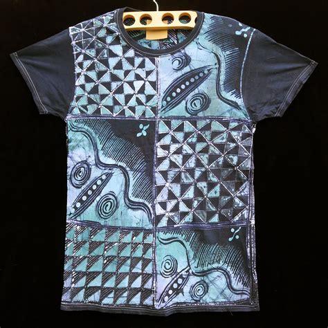 t shirt batik batik t shirt by gasali adeyemo indigo arts