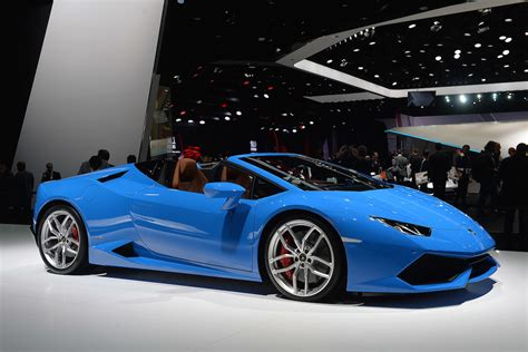 renault alliance blue lamborghini unleashes new huracan lp610 4 spyder