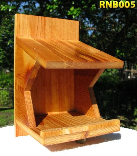 robin mourning dove swallow nest box reclaimed cedar nesting boxes wood bird feeder