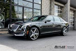 Cadillac CT6 with 22in Lexani R-Four Wheels exclusively