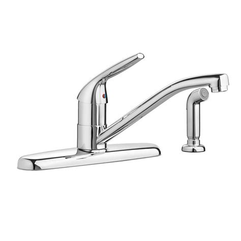 standard kitchen faucet standard colony choice single handle standard